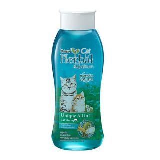 8851495011222 <br> (ขวด) แชมพูแมว-สีฟ้า-เฮอเบิลเอ็กซ์พีเรียล 500มล.